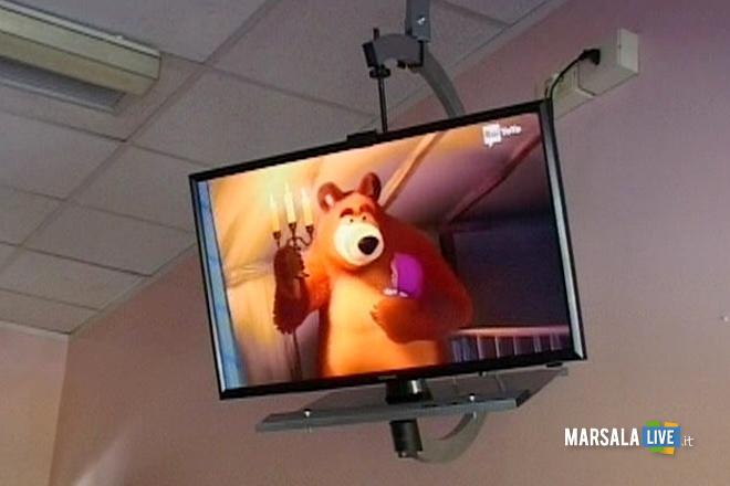 Tv-gratuita-pediatria-ospedale-di-Castelvetrano