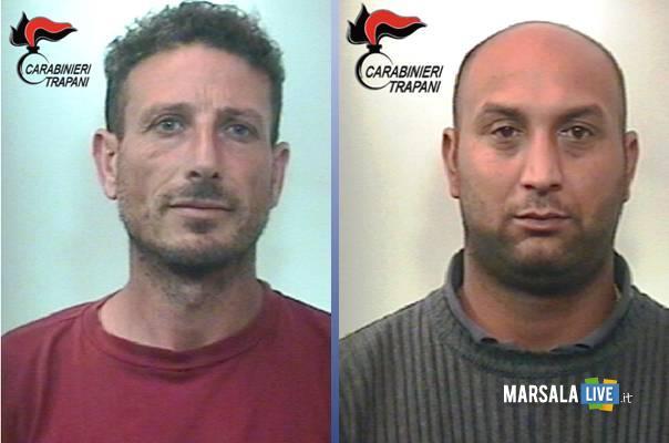 Vincenzo-Marchese-e-Gabriel-Ciubotaru-Marsala-Petrosino-spaccio-sostanze-stupefacenti