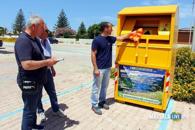 Marsala-rifiuti-tessili-contenitori