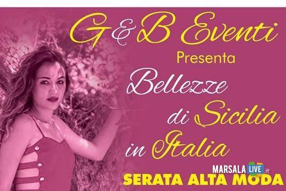 Bellezze di Sicilia in passerella-