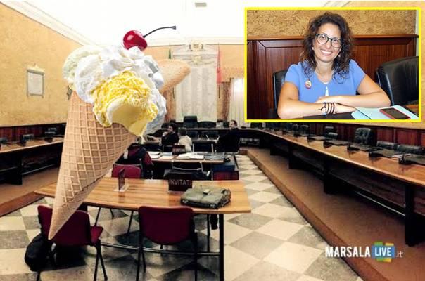 Giusi-Piccione-consiglio-comunale-marsala-gelato