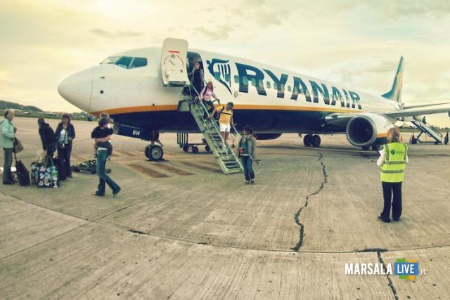 Ryanair-Trapani-Praga