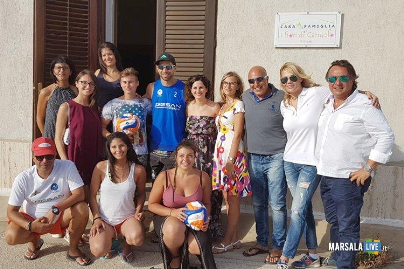 Visita alla Casa Famiglia I Fiori di Carmelo