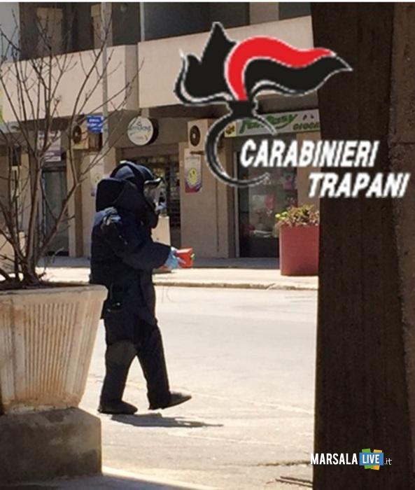 Bomba senza esplosivo in cassetta delle lettere a Marsala