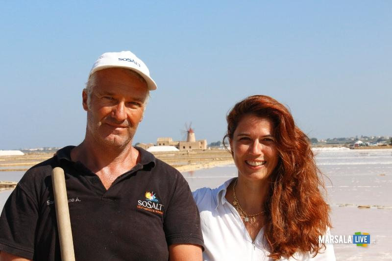 Andrea Sammartano e Angela Trapani  Marsala