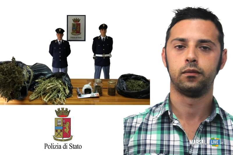 In borsa7,5 kg marijuana, due arrestati