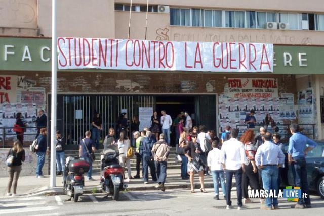 palermo-università-studenti-contro-la-guerra