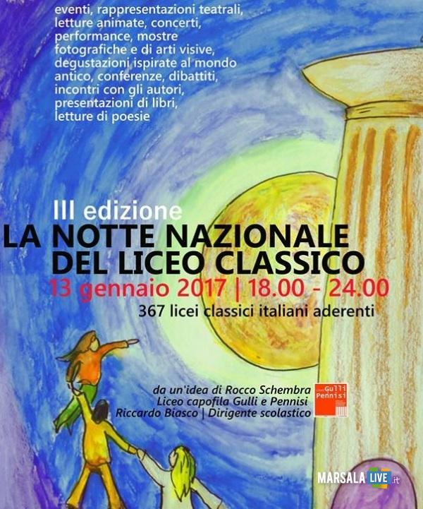 La Notte Nazionale del Liceo Classico Marsala