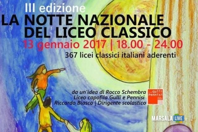 Marsala La Notte Nazionale del Liceo Classico