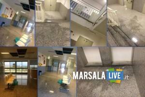 Piove-dentro-l-ospedale-Paolo-Borsellino-di-Marsala