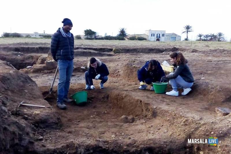 Studenti-Liceo-Classico-Marsala-al Parco-Archeologico-