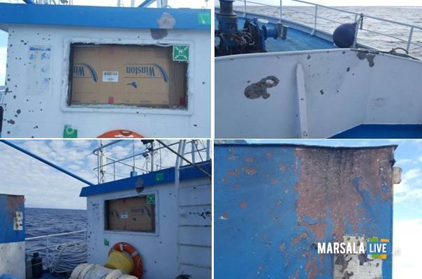 aggressione nei confronti di pescherecci mazaresi nel Canale di Sicilia