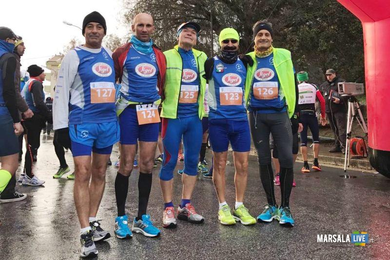 - Atl. - Atleti della Pol. Marsala Doc alla Maratona di Ragusa