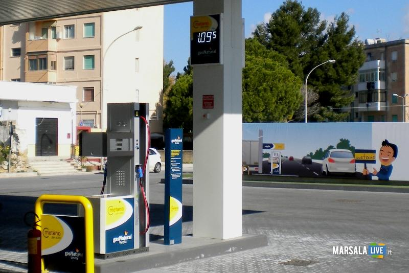 Gas Natural Vendita - Impianto metano Marsala
