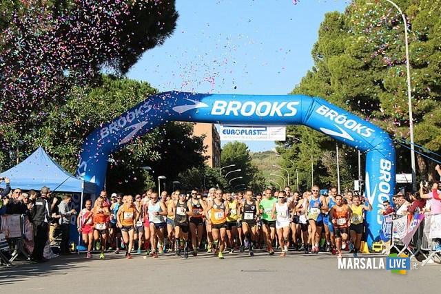 Partenza maratonina Gela 2016