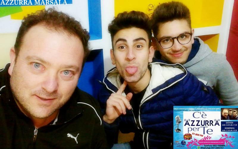 Radio Azzurra Marsala Trio Azzurro Enzo Amato Dario Tumbarello Alessandro Gagliano.