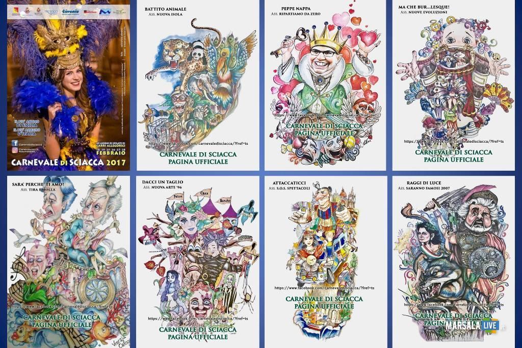 Il programma del carnevale di sciacca 2017 da sabato 18 a for Arte arredi sciacca
