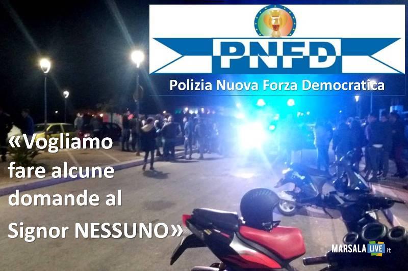 Polizia-Nuova-Forza-Democratica-Signor-nessuno-Petrosino