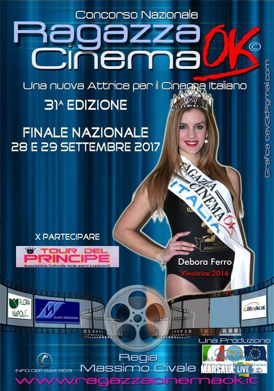 la nostra miss Debora Ferro di Marsala - Miss Ragazza Cinema Ok 2016