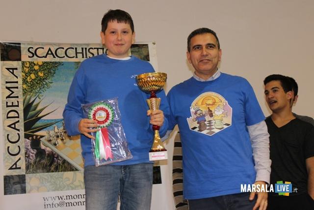 Gianluca Savalla e Bianca Pipitone Campioni Regionali di scacchi Marsala (1)