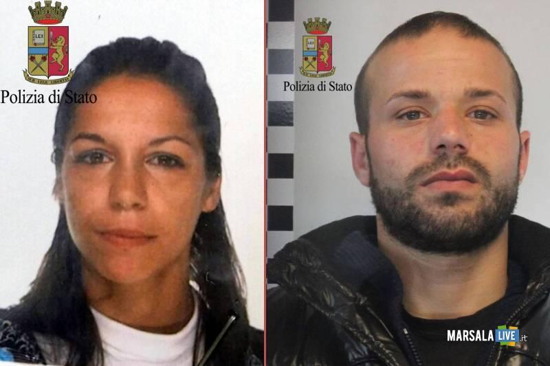 Ivana-Ferrara-e-Francesco-Aliseo-polizia