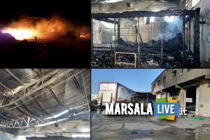 Marsala-incendio-deposito-frutta-e-verdura-ABC-cooperativa-a-Birgi