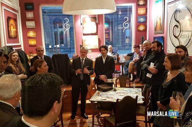 Serata a Maison Sensi con degustazione prodotti di aziende del Distretto