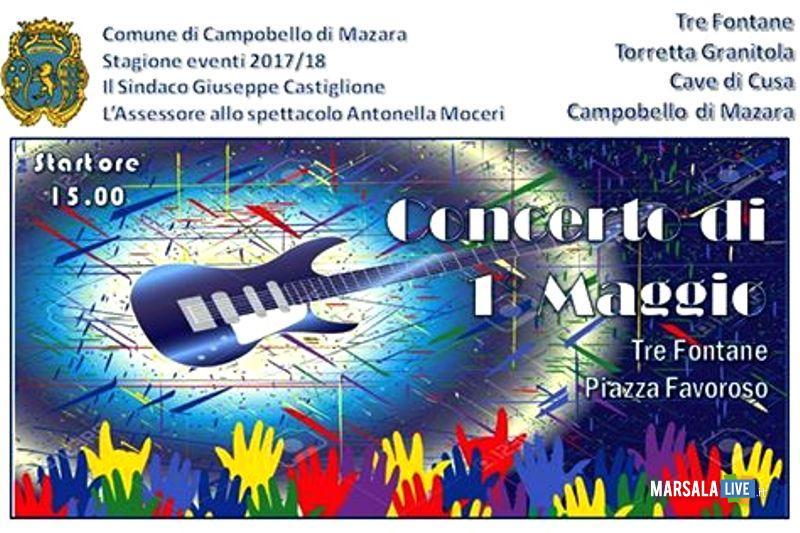locandina Primo Maggio Tre Fontane 2017