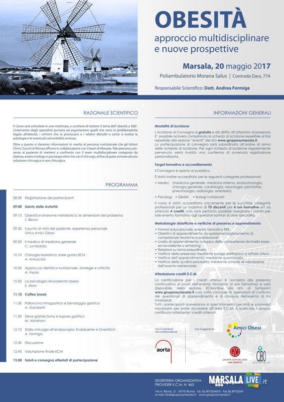 European Obesity Day convegno a Marsala