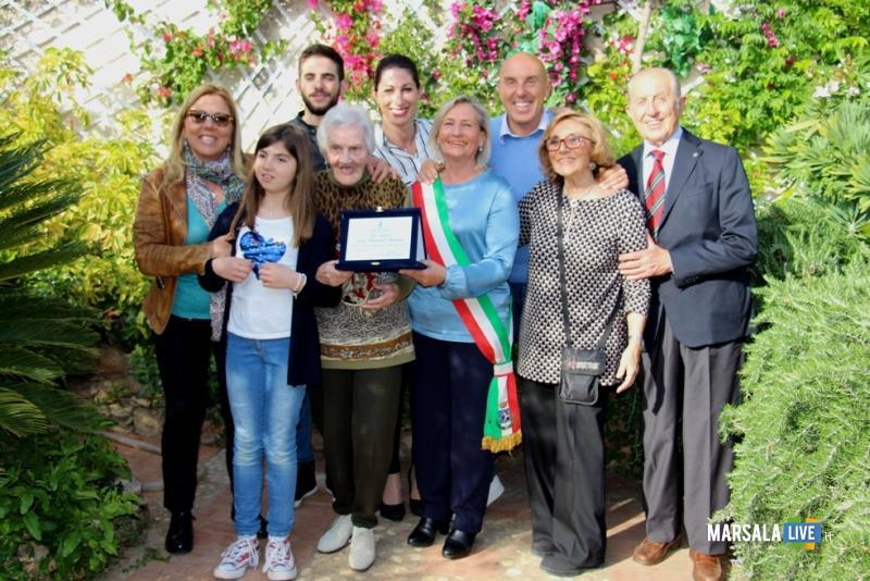 Licia-Ricciardi-Pazzano-zia-Licia-100-anni-Marsala