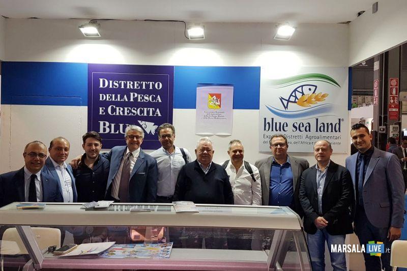 Rappresentanti aziende del Distretto a Tuttofood con dott Dimino