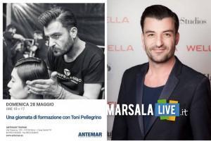 Toni-Pellegrino-coiffeur-Rai-2-Detto-Fatto-a-Erice-Antemar