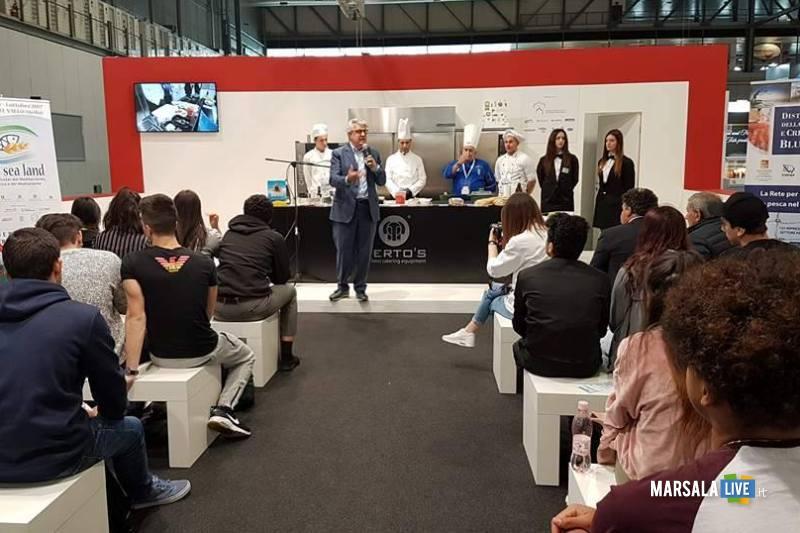 Tuttofood_presentazione Blue Sea Land a studenti lombardi