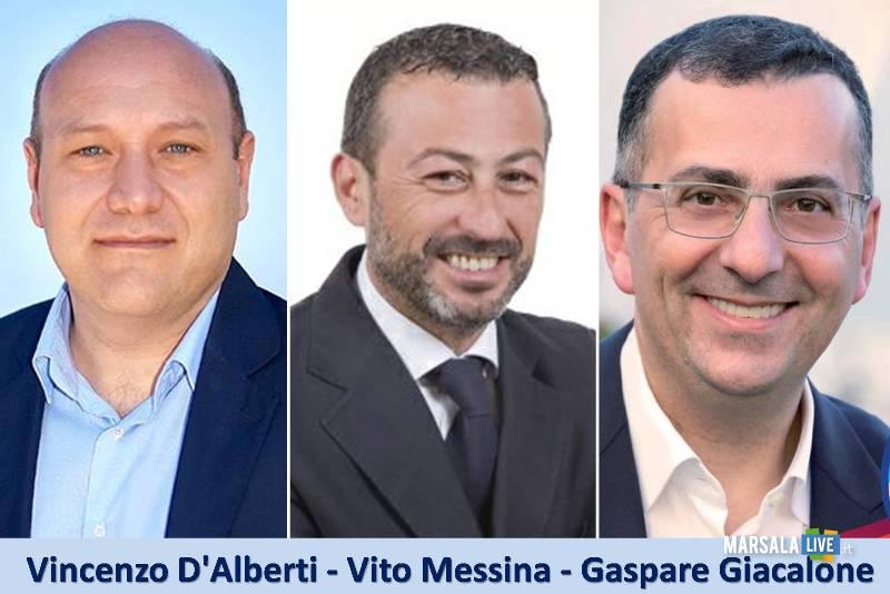 Vincenzo-D-Alberti-Vito-Messina-e-Gaspare-Giacalone