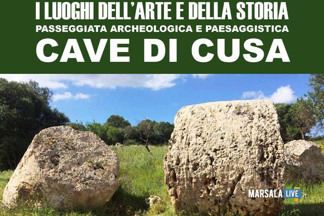 passeggiata archeologica Cave di Cusa 7 maggio-