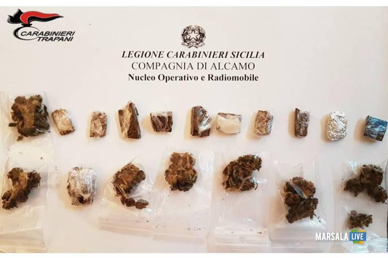 alcamo-ventottenne-carabinieri-sostanza-stupefacente
