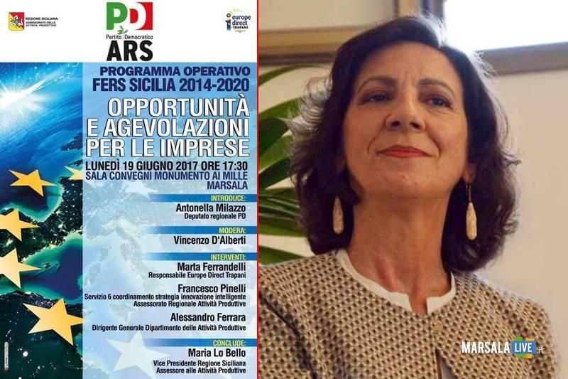 Marsala-Programma-operativo-Fers-Sicilia 2014-2020-antonella-milazzo-pd