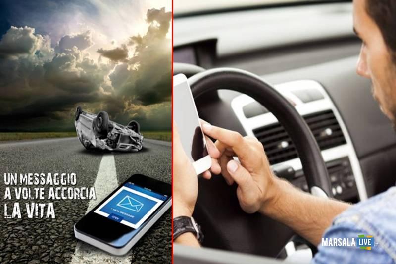 Cellulare alla guida ritiro patente