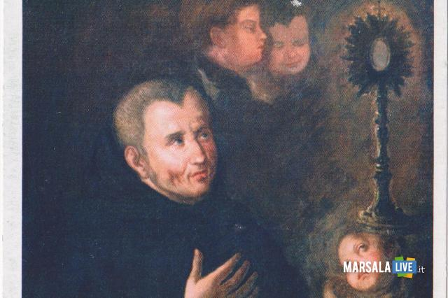 Fra Santo cartolina marsala trapani