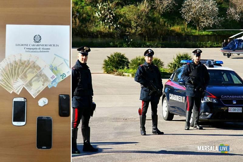 Giro di vite dei Carabinieri denunce Alcamo