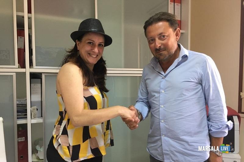 Maria Scavuzzo e Massimo Saladino