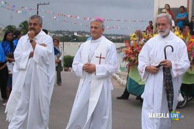 Processione a Santana Brasile con Fragnelli e De Florio