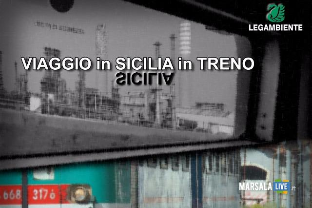Viaggio in Sicilia in Treno legambiente marsala petrosino-