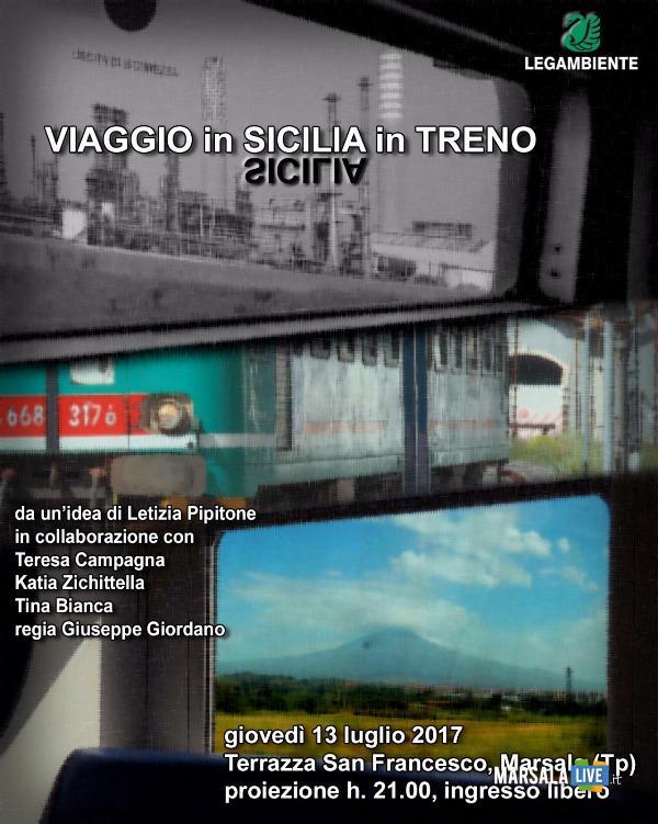 Viaggio in Sicilia in Treno legambiente marsala petrosino