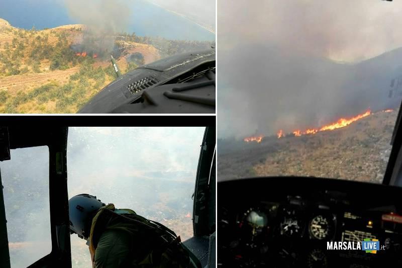 impegno dell-Aeronautica Militare nella lotta agli incendi