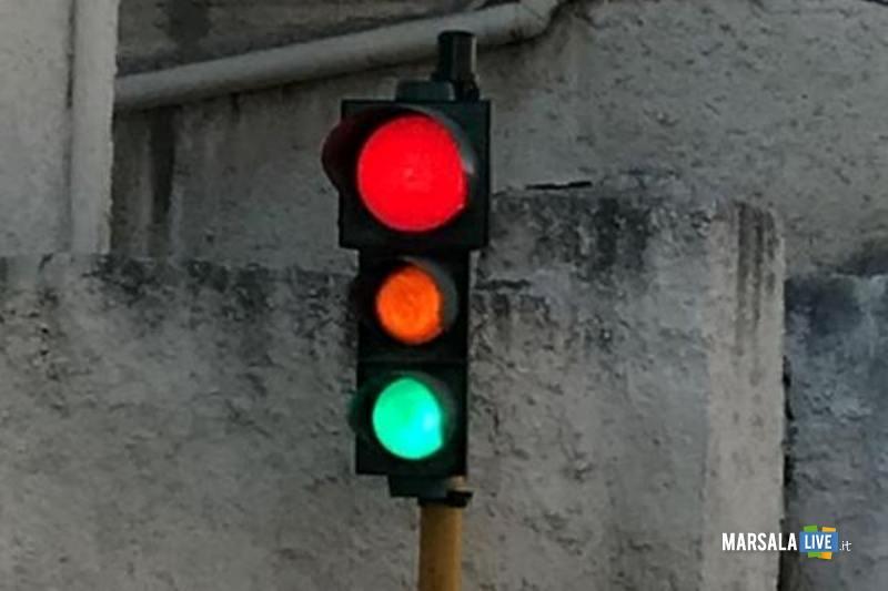 semaforo a strasatti di marsala