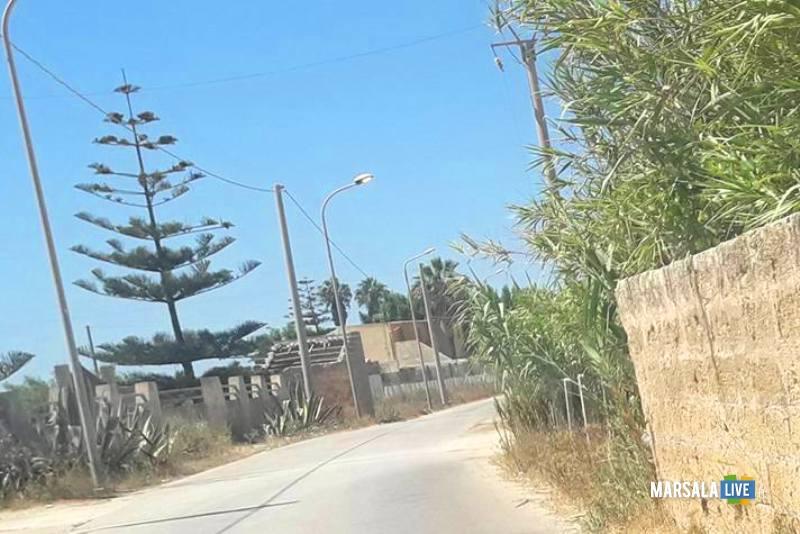 strada Lido Sibiliana Petrosino marsala 2