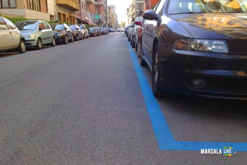 Alcune scelte scellerate parcheggio marsala strisce blu