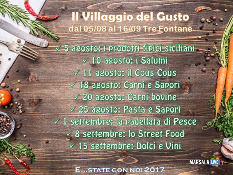 Il villaggio del Gusto_locandina nuova