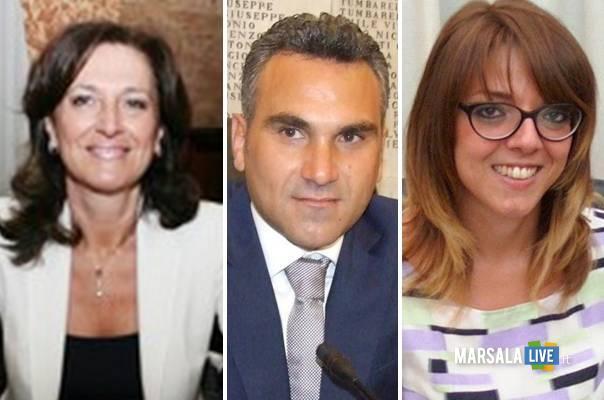 Luigia-Ingrassia-Luana-Alagna-Vincenzo-Sturiano-Democratici-per-Marsala